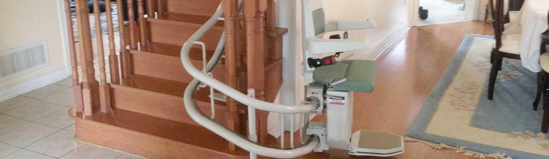 Treppenlift Bauarten